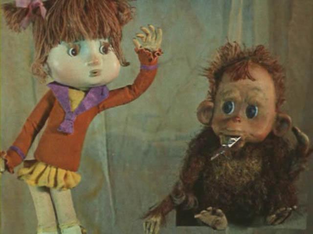 мультфильм анфиска фото обезьянка