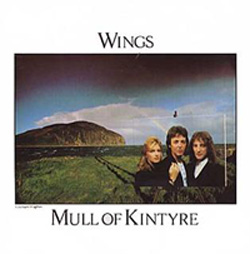 Обложка сингла Wings «Mull of Kintyre» (1977)