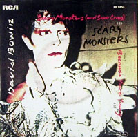 Обложка сингла «Scary Monsters (and Super Creeps)» (Дэвида Боуи, 1981)