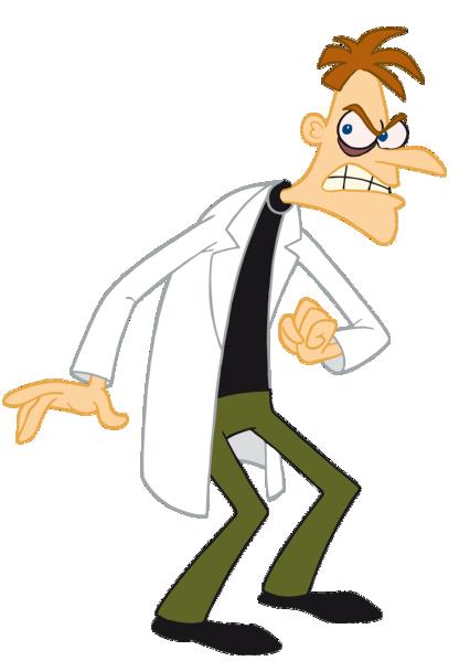 evil cartoon scientist - HD1111×1600