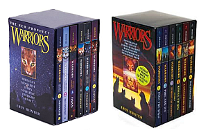 Warriors dawn of the clans 6 book set