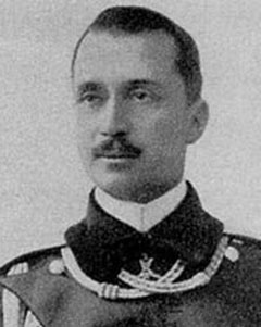 Густав Маннергейм. Фотография около 1912 года