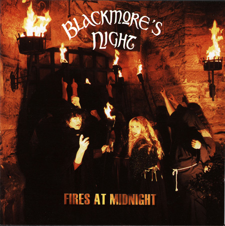 Обложка альбома Blackmore's Night «Fires At Midnight» (2001)