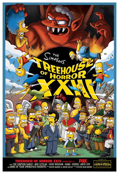 Cartoon Characters 21st Century : Treehouse of horror xxiii — Википедия