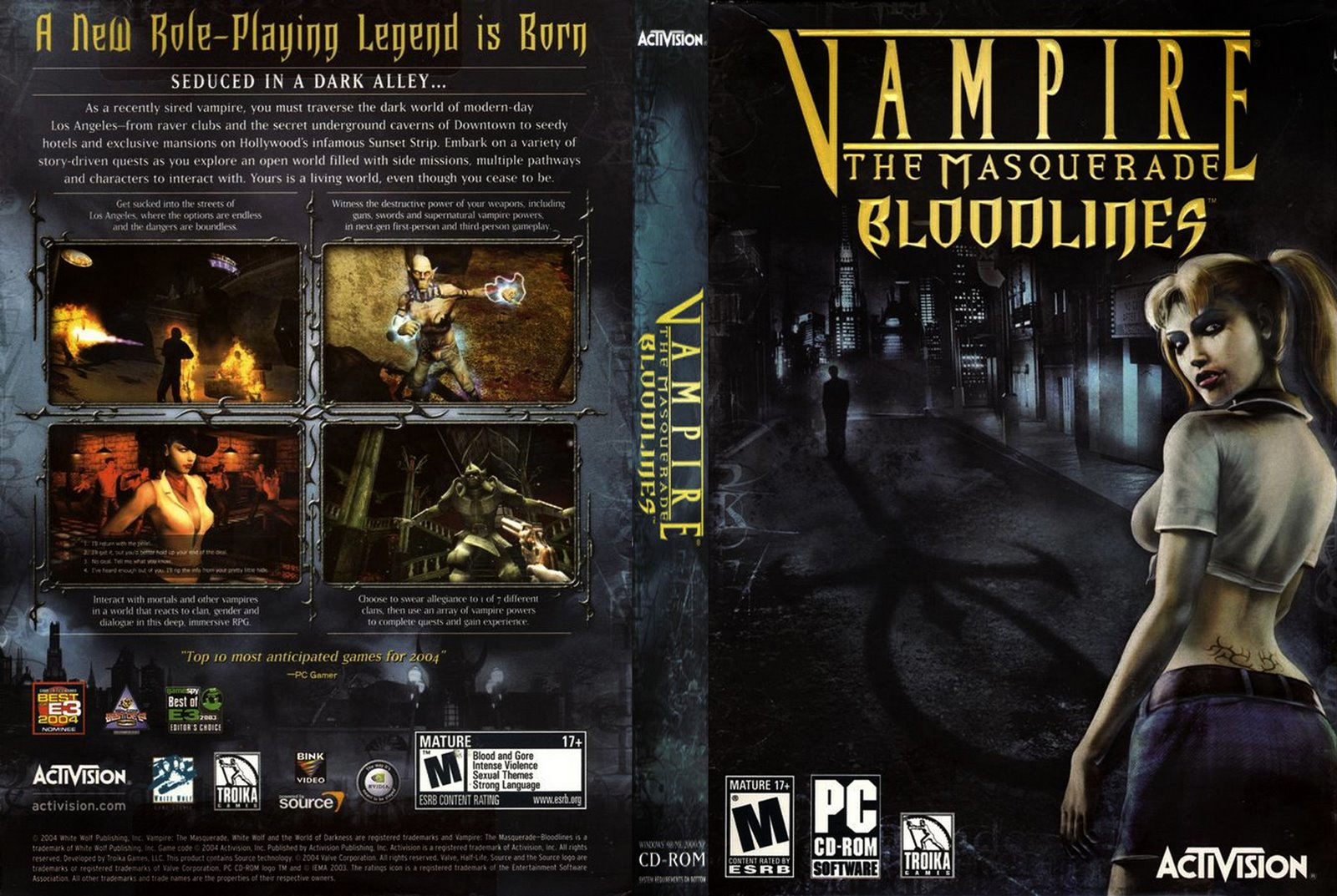 Vampire the masquerade bloodlines sexy gallery