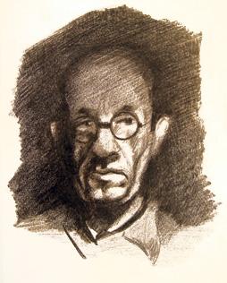 Виктор Тоот. Автопортрет. 1946 г.