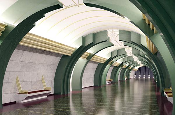 Metro SPB Line6 Kazakovskaya