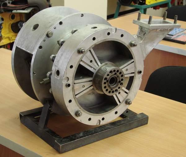 Роторно-лопастной двигатель