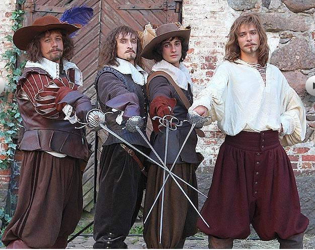 мария мишон три мушкетера
