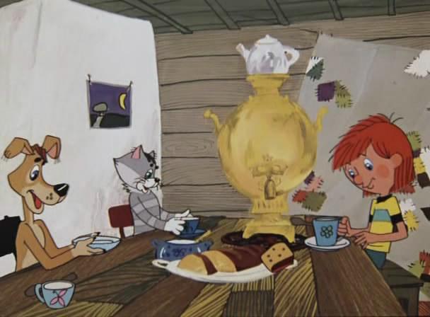 Это мои любымие мультики з детства: Трое из