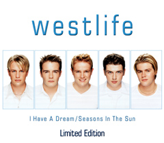 Обложка сингла Westlife «I Have a Dream/Seasons In The Sun» (1999)