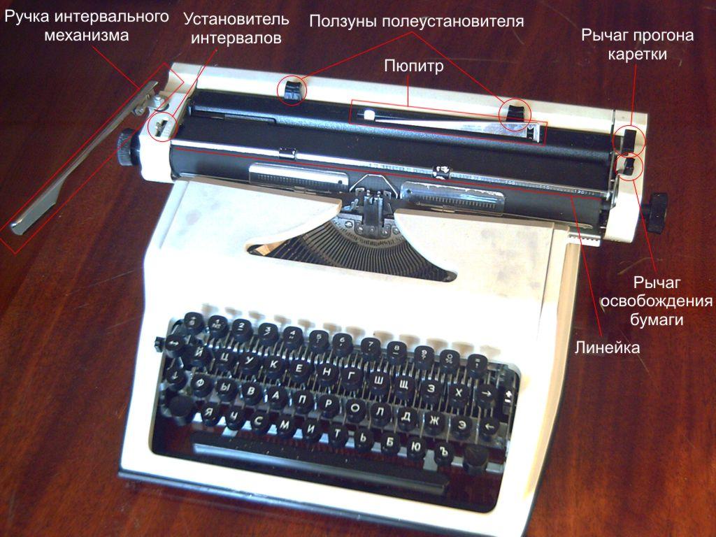 Печатная машинка инструкция скачать