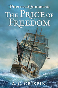 Crispin pirates of the caribbean the price of freedom coverart
