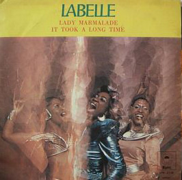Обложка сингла Labelle «Lady Marmalade» (1974)