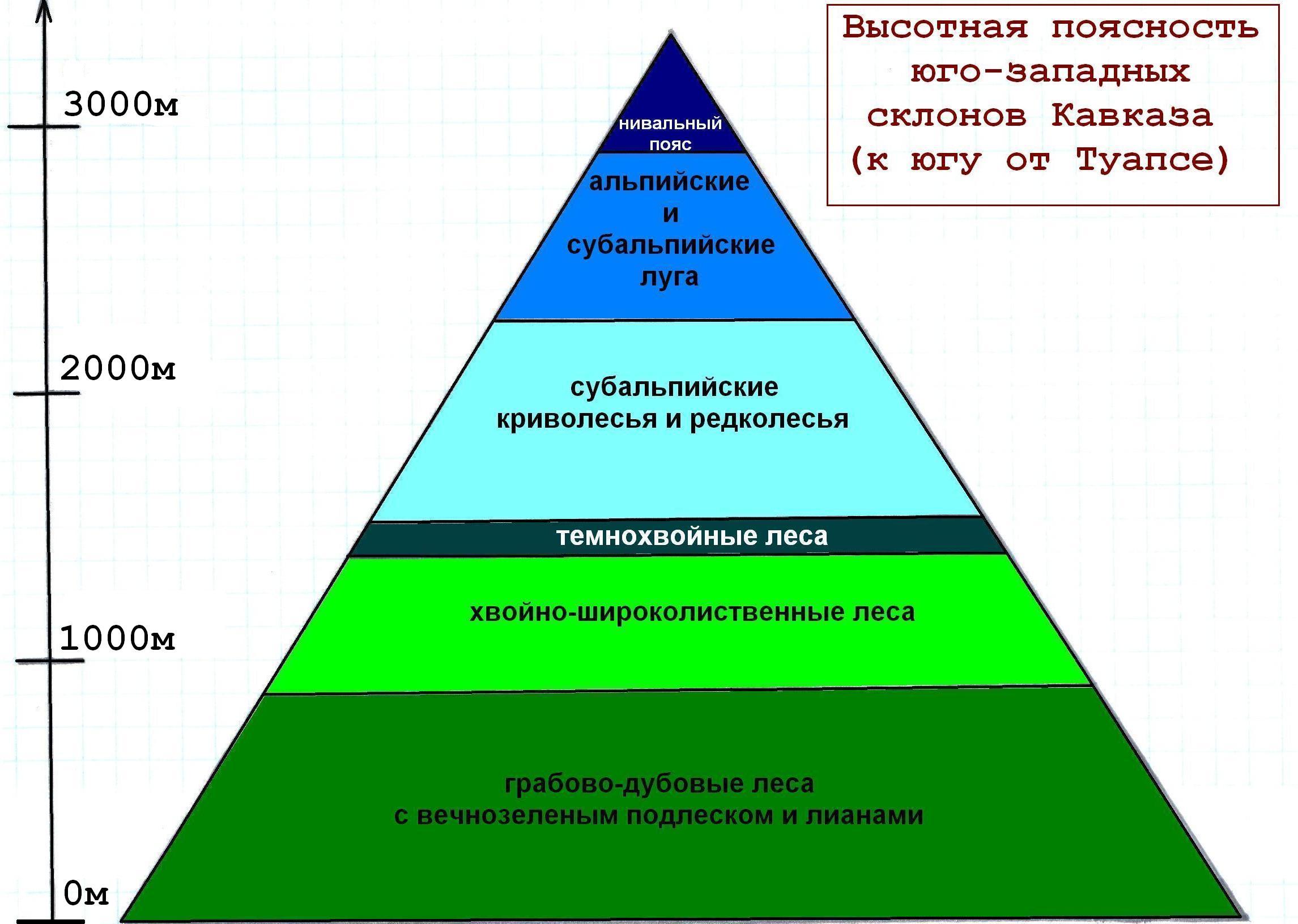 кавказские горы презентация
