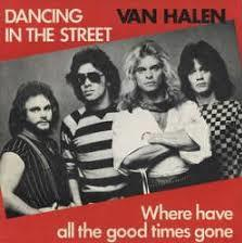 Обложка сингла Van Halen «Where Have All the Good Times Gone» (1982)