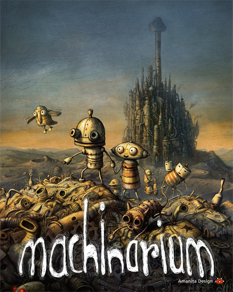 Machinarium (2009/RUS) Portable от punsh скачать торрент