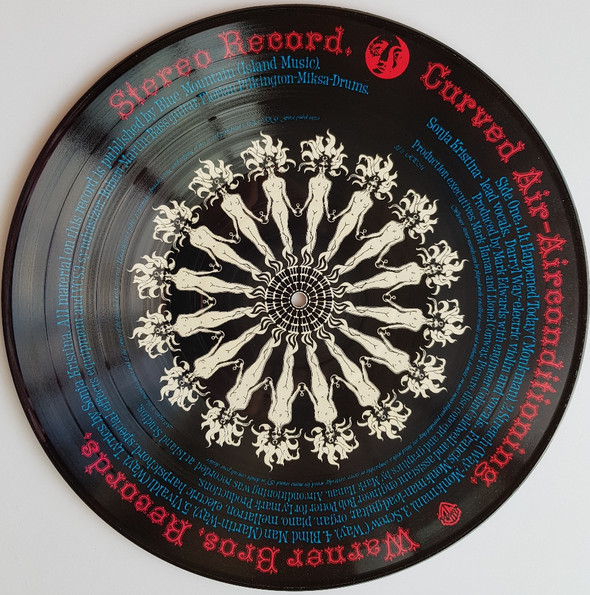 Обложка альбома Curved Air «Airconditioning» (1970)