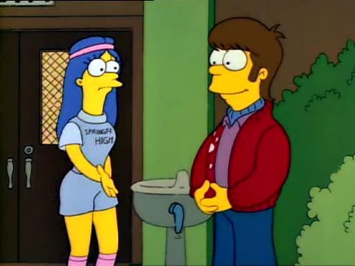 Симпсоны в какой серии гомер и мардж занимаются сексом дома фото 724-651