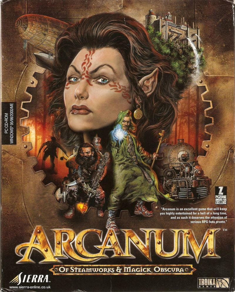 Arcanum Of Steamworks and Magick Obscura - В комплекте моды и патчи (Sierra On-Line ) (RUS) [P]