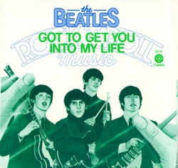 Обложка сингла The Beatles «Got to Get You into My Life» (1976)