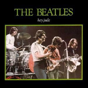 Обложка сингла The Beatles «Hey Jude» (1968)
