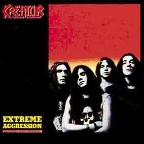 Обложка альбома Kreator «Extreme Aggression» (1989)