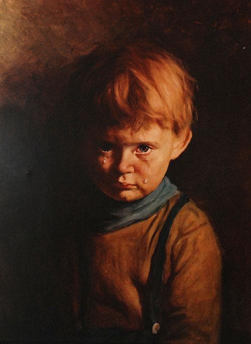 Проклята картина Браголіна знайшлася в селі Заклад на Львівщині, в місцевій психлікарні