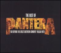 Обложка альбома Pantera «The Best of Pantera: Far Beyond the Great Southern Cowboys' Vulgar Hits!» (2003)
