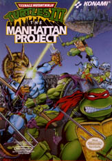 TMNT 3: The Manhattan Project box art
