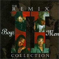 Обложка альбома Boyz II Men «The Remix Collection» (1995)