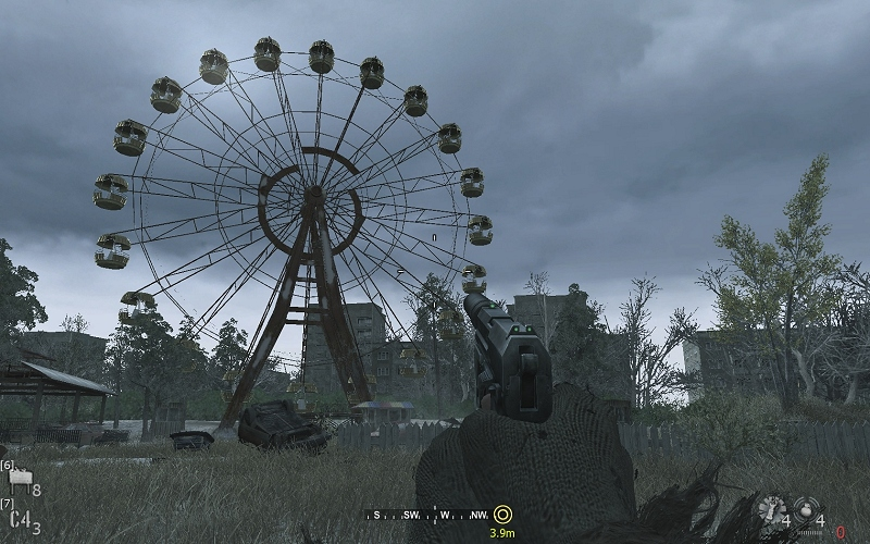 Скриншот из Call of Duty 4,