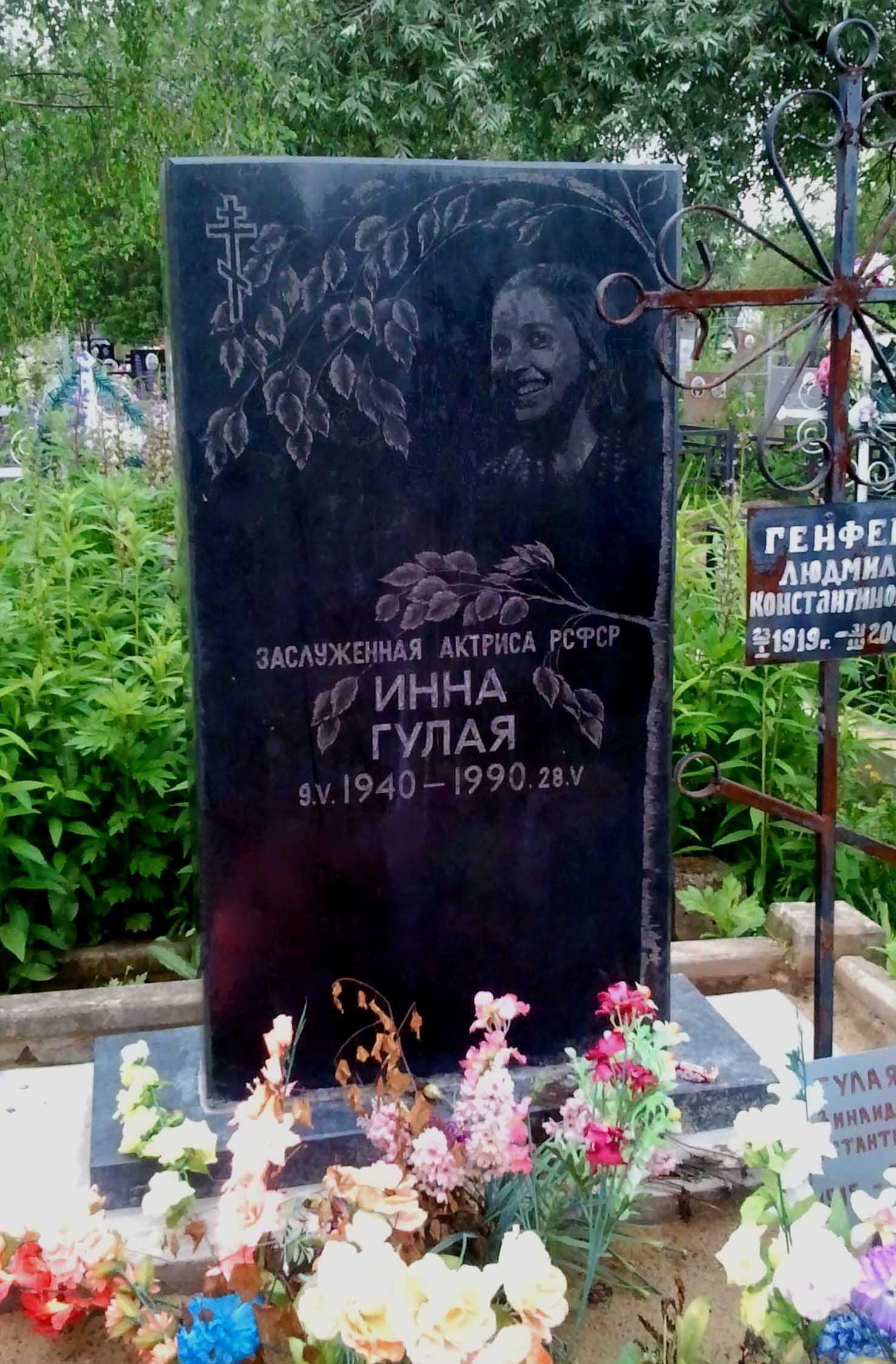 Обложка книги инна гулая биография причина смерти