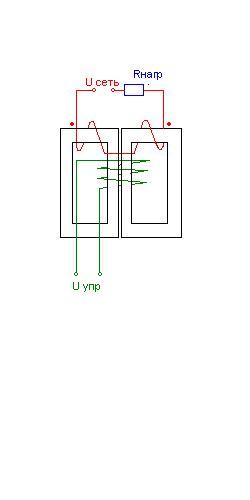 Дроссельный магнитный усилитель