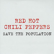 Обложка песни Red Hot Chili Peppers «Save the Population»
