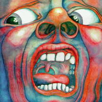 Обложка альбома King Crimson «In the Court of the Crimson King» (1969)