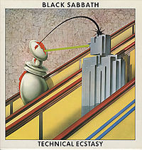 Обложка альбома Black Sabbath «Technical Ecstasy» (1976)