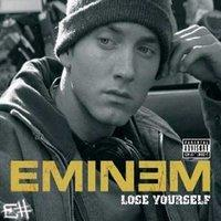 Обложка сингла «Lose Yourself» (Eminem, 2002)