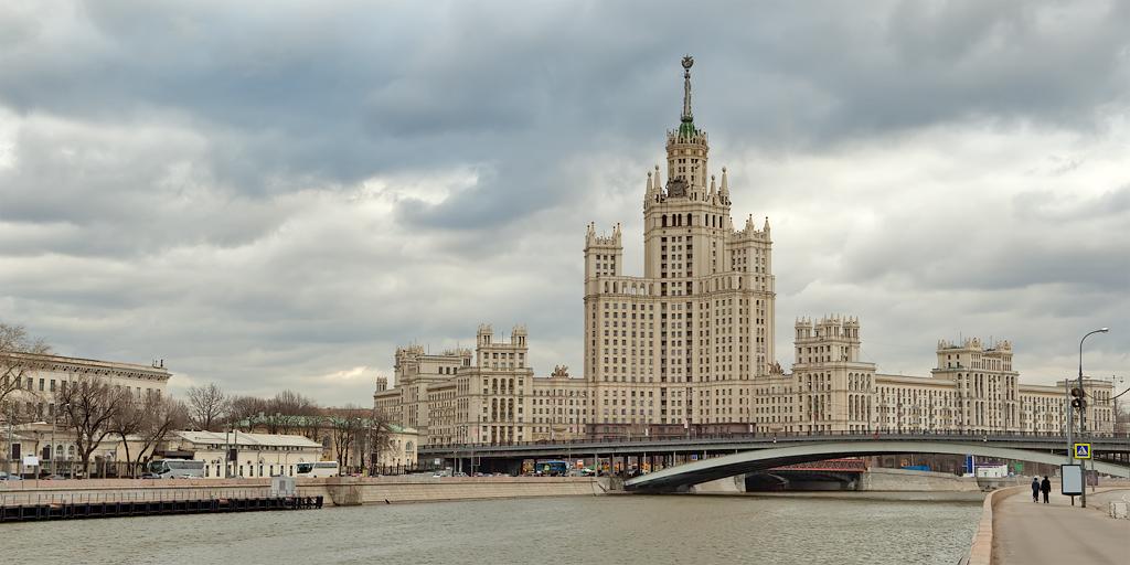 фото сталинских высоток в москве