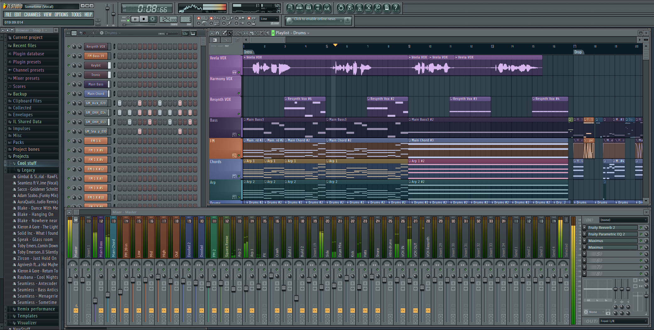 Flstudio11 for House music maker