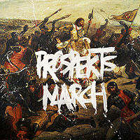 Обложка альбома Coldplay «Prospekt's March» (2008)