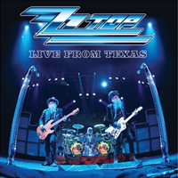Обложка альбома ZZ Top «Live from Texas» (2008)