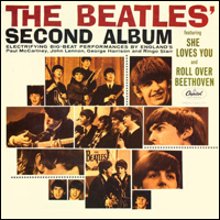 Обложка альбома The Beatles «The Beatles' Second Album» (1964)