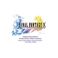 Обложка альбома Нобуо Уэмацу, Масаси Хамаудзу, Дзюнъя Накано «Final Fantasy X Original Soundtrack» ({{{Год}}})