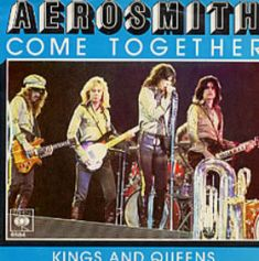 Обложка сингла Aerosmith «Come Together» (1978)