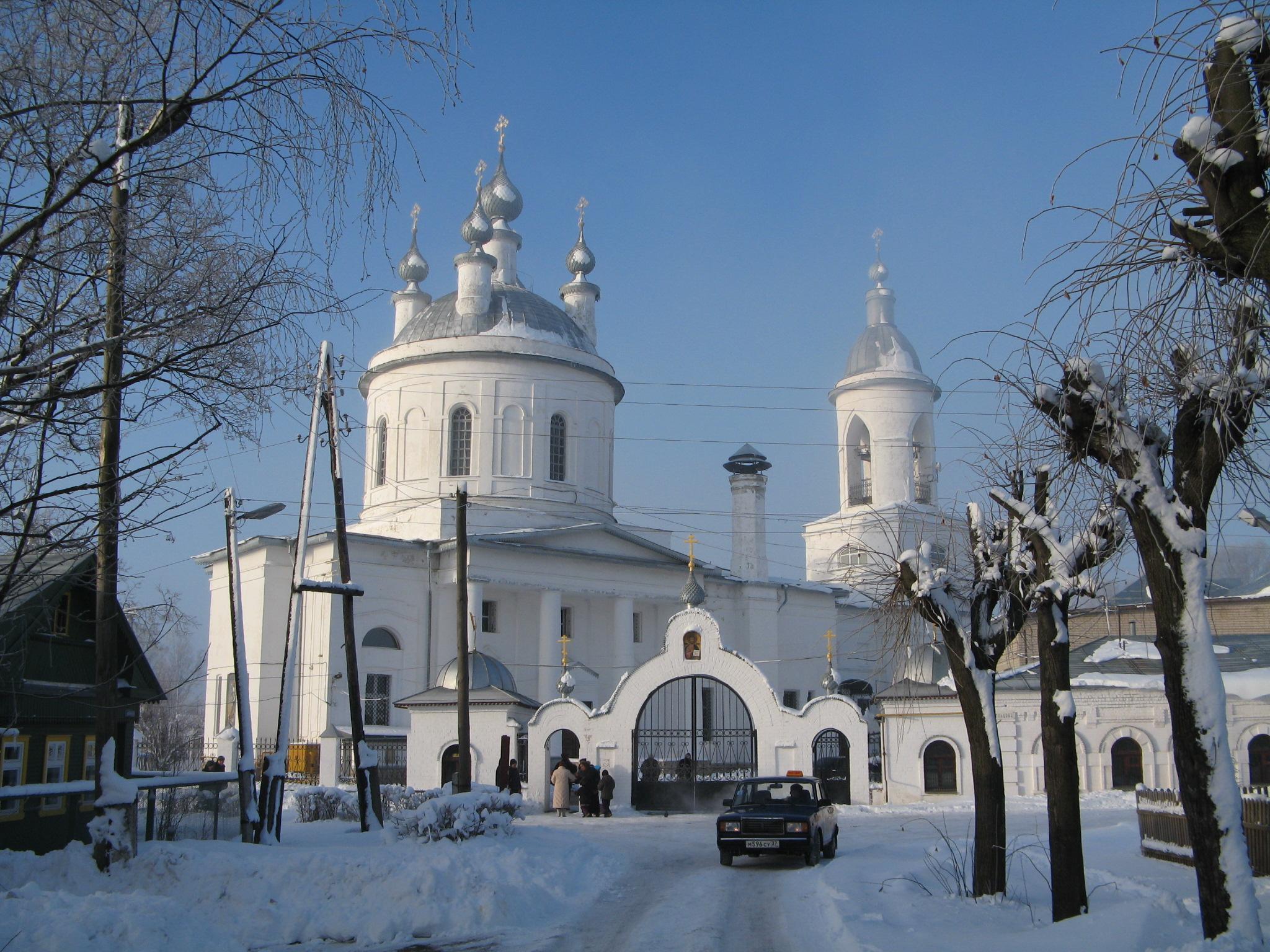 Православные храмы Иванова Википедия Храм святого Пророка Илии на ул Кольцова