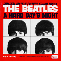 Обложка альбома The Beatles и Джордж Мартин «A Hard Day's Night» (1964)