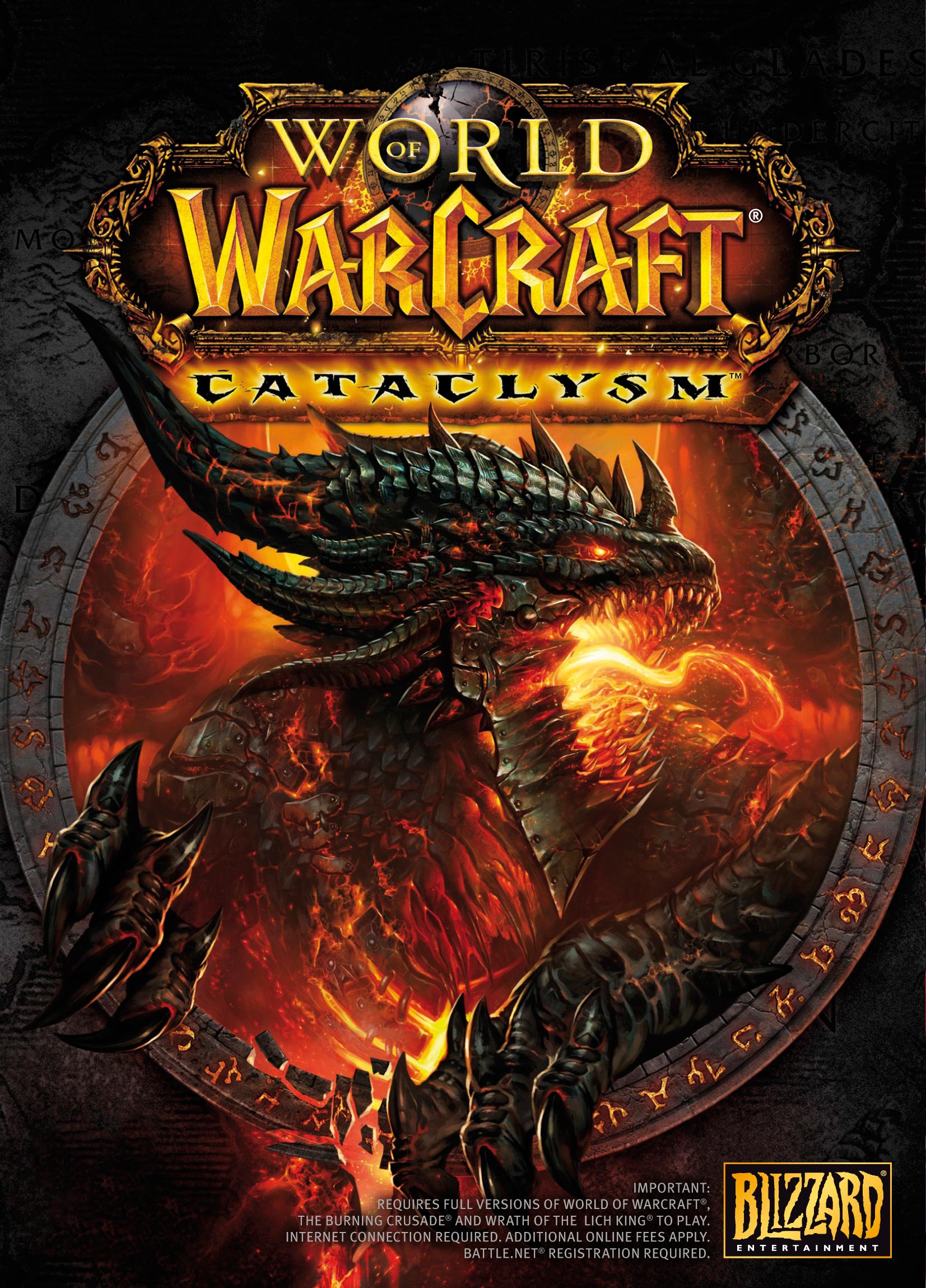 world of warcraft cataclysm cover artjpg