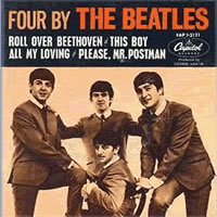 Обложка альбома The Beatles «Four by The Beatles» (1964)