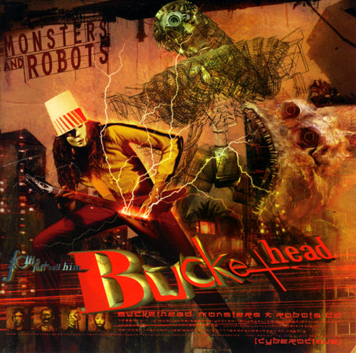 Buckethead - Monsters & Robots